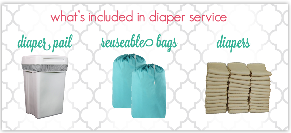 what's included in diaper service