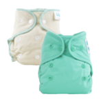 AIO + Fitted diapers